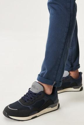 Altınyıldız Classics Erkek Lacivert Casual Spor Sneaker Ayakkabı 0