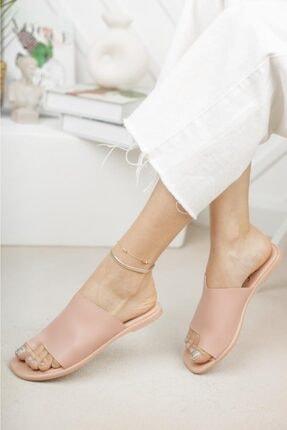 Moda Frato Kadın Pembe Parmak Arası Terlik 1
