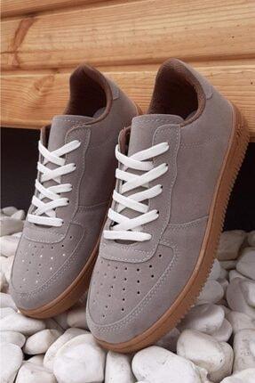Moda Frato Unisex Gri Spor Ayakkabı 4