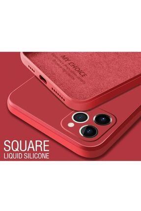 KVK PRİVACY Iphone 12 Promax 6.7 Kamera Korumalı Lansman Içi Süet Ve Kadifemsi Kılıf 3