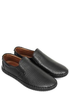 GÖNDERİ(R) Hakiki Deri Siyah Erkek Günlük (Casual) Ayakkabı 01225 0