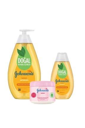 Johnson's Baby Johnson's Baby Şampuan 750+200 Ml + Hafif Parfümlü Bebek Vazelini 100 Ml 1