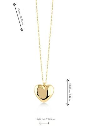 Foreva Jewels Üç Boyutlu Kalp Kolye 2