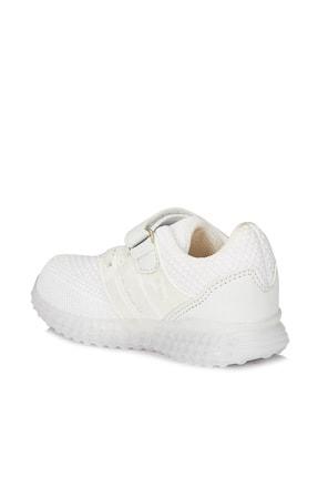 Vicco Flash Unisex Bebe Beyaz Spor Ayakkabı 3