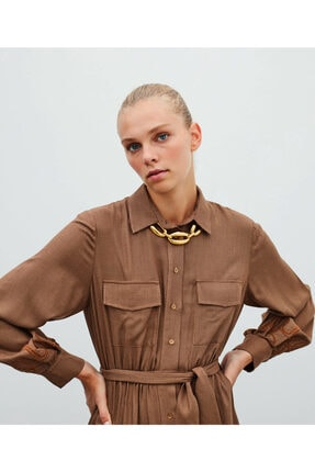 İpekyol Gömlek Elbise 0