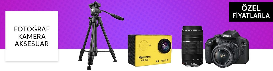 Fotoğraf & Kamera & Aksesuar   Online Satış, Outlet, Store, İndirim, Online Alışveriş, Online Shop, Online Satış Mağazası