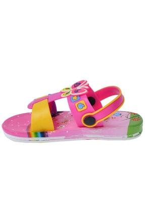 Kiko Kids Kiko Akn E240.012 Plaj Havuz Kız Çocuk Sandalet Terlik 2