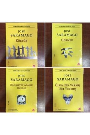 Kırmızı Kedi Yayınları Jose Saramago Serisi 4'lü Kitap Seti 0