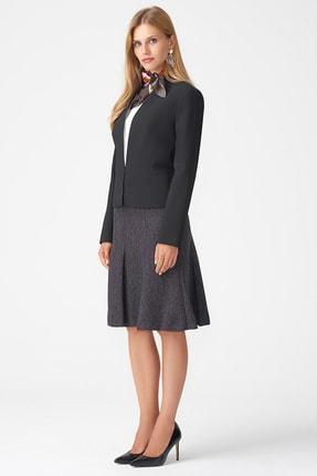 Naramaxx Kadın Siyah Yakasız Klasik Siyah Ceket 18K11111Y238001-Sıyah 1