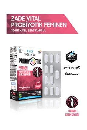 Zade Vital Feminen Probiyotik 30 Bitkisel Kapsül - Blister 0