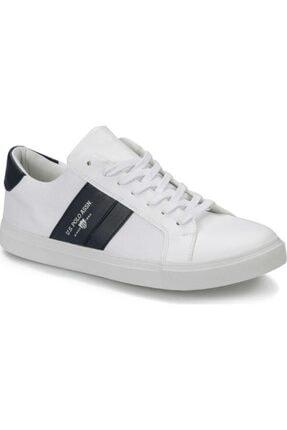 US Polo Assn 100357277 Anton Beyaz Erkek Sneaker Ayakkabı 0