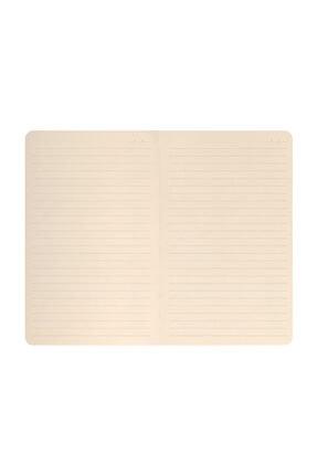Matt Notebook 13x21 Sert Kapak Lastikli Defter Çiçek Desen Çizgili 1