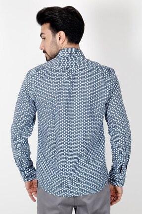 Jakamen Lacivert Regular Fit Gömlek 3