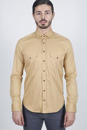 Jakamen Taba Slim Fit Gömlek 0
