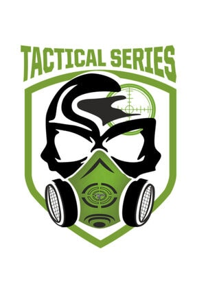 SCUBAPROMO Tactical Series Beyaz Erkek Tişört 2