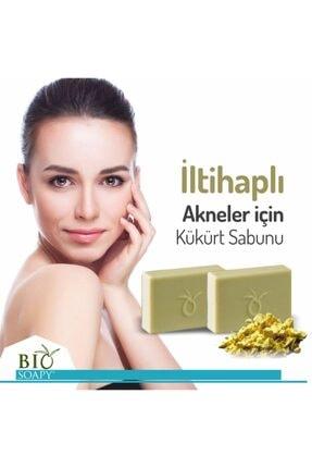 Biosoapy Doğal Kükürt Sabunu 100 Gr X 3 Adet (akneli Bölgede Soyucu Etki) 4