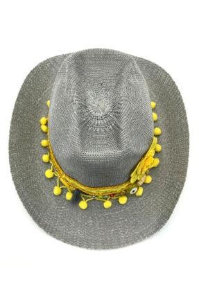 İstanbul Şapka Kadın Gri Şapka 0