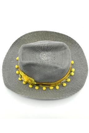 İstanbul Şapka Kadın Gri Şapka 3