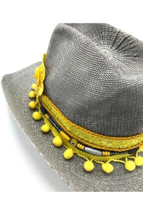 İstanbul Şapka Kadın Gri Şapka 4