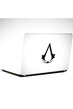 Dekolata Assasins Siyah Laptop Sticker Laptop 19 Inch (40,5x27 cm) 0