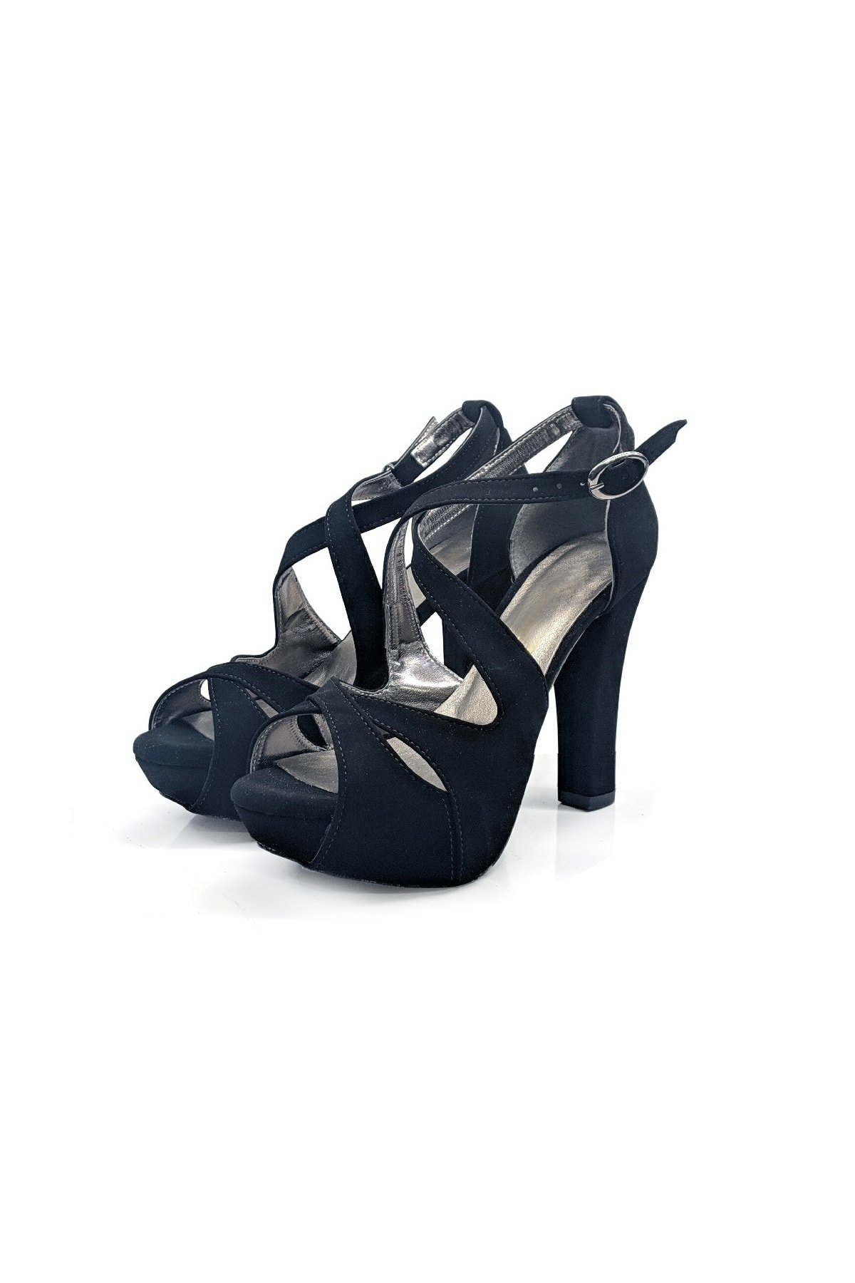 BBSHOES Kadın 12cm Abıye Düğün Ayakkabısı