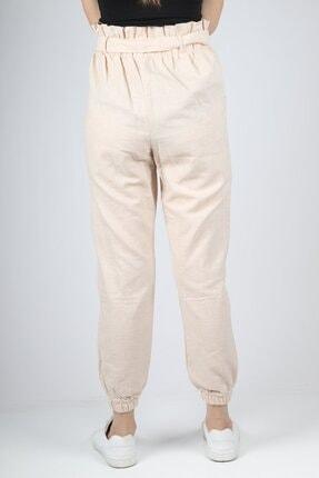 HAKKE Kadın Vizyon Bel Kurdele Paça Lastik Pantolon 3