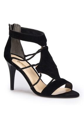 Polaris Siyah Renk Ince Topuklu Stiletto 0