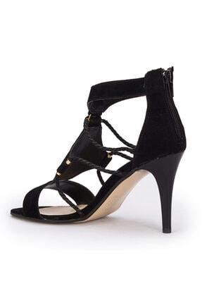 Polaris Siyah Renk Ince Topuklu Stiletto 2