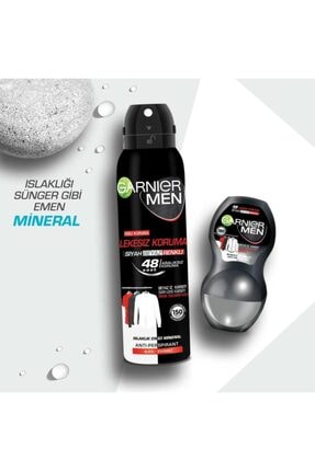 Garnier Men Erkek Deo Sprey Lekesiz Koruma Deodorant+roll-on Seti 0