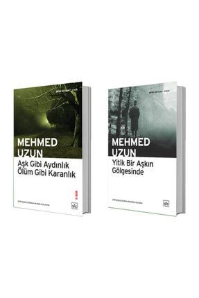 İthaki Yayınları Aşk Gibi Aydınlık Ölüm Gibi Karanlık + Yitik Bir Aşkın Gölgesinde - Mehmed Uzun 0
