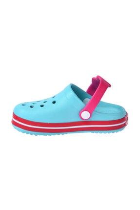 Kiko Kids Kız Çocuk Mavi Plaj Sandalet E196.46 2