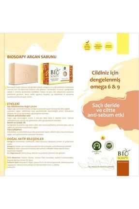 Biosoapy Doğal Argan Sabunu 100 Gr X 3 Adet (ciltteki Yaşlanma Belirtilerinde Gecikme) 2