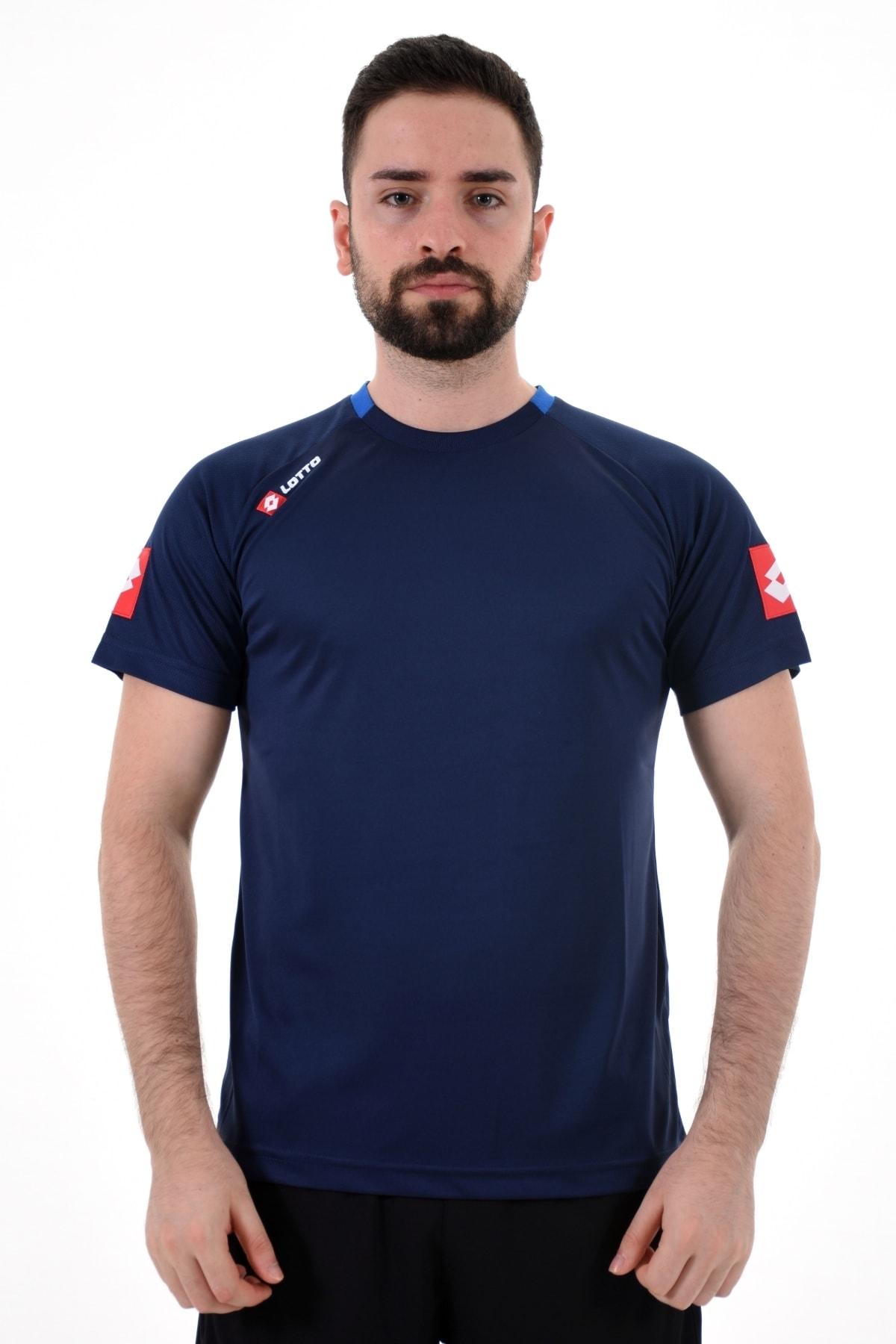 Lacivert Kısa Kollu T-shirt-joe Tee Ant Pl-r8933