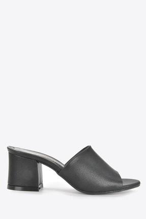 Vizon Ayakkabı Kadın Siyah Terlik Vzn20-087 0