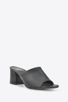 Vizon Ayakkabı Kadın Siyah Terlik Vzn20-087 2