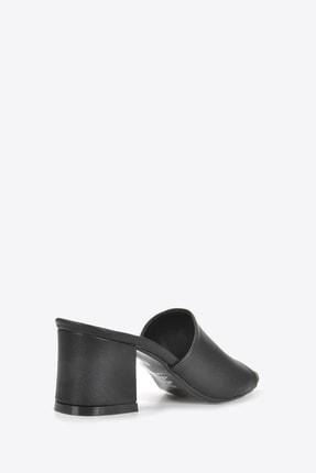 Vizon Ayakkabı Kadın Siyah Terlik Vzn20-087 3