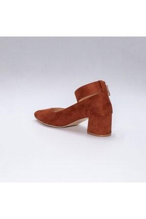 Rns Kadın Kahverengi Topuklu Ayakkabı 1