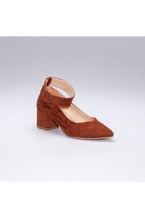 Rns Kadın Kahverengi Topuklu Ayakkabı 2