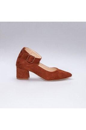 Rns Kadın Kahverengi Topuklu Ayakkabı 3