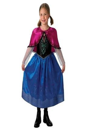 THE PARTY STORE Kız Çocuk Frozen Anna Lisanslı Kostüm 0