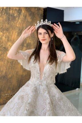 Womentic Bridal Vip Model Işıltılı Yeni Sezon Gelinlik 0