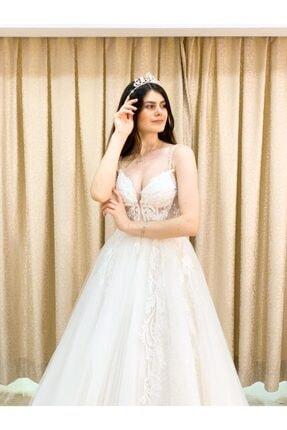 Womentic Bridal Işlemeli Yeni Sezon Gelinlik 0