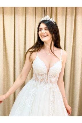 Womentic Bridal Işlemeli Yeni Sezon Gelinlik 1