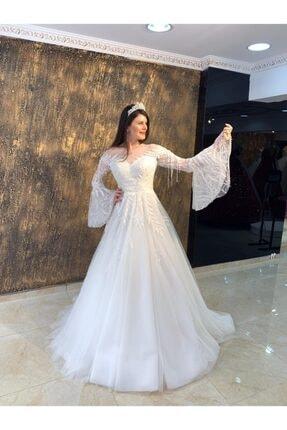 Womentic Bridal Kol Işlemeli Gelinlik 3