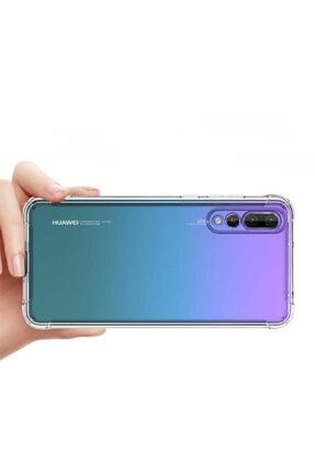 Yeni1Trend Huawei P Smart Z Kılıf Şeffaf Silikon Tam Korumalı Dayanıklı 0