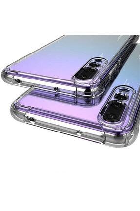 Yeni1Trend Huawei P Smart Z Kılıf Şeffaf Silikon Tam Korumalı Dayanıklı 4