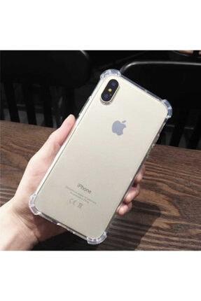 Yeni1Trend Apple Iphone Xs Kılıf Şeffaf Silikon Tam Korumalı Dayanıklı 0