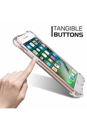 Yeni1Trend Apple Iphone 7 Plus Kılıf Şeffaf Silikon Tam Korumalı Dayanıklı 3