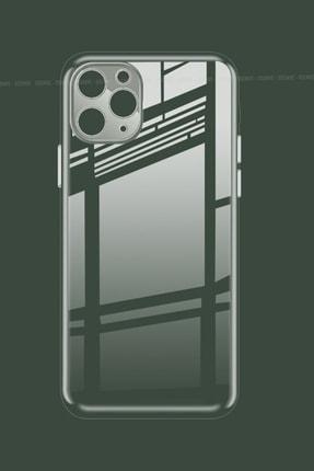 """Soffy Iphone 11 Pro Max 6.5"""" Kılıf 3d Kamera Korumalı Ve Tıpalı Şeffaf Silikon Case 0"""