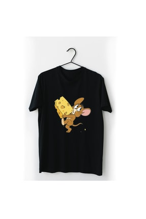 VectorWear Jerry Siyah Tişört 0